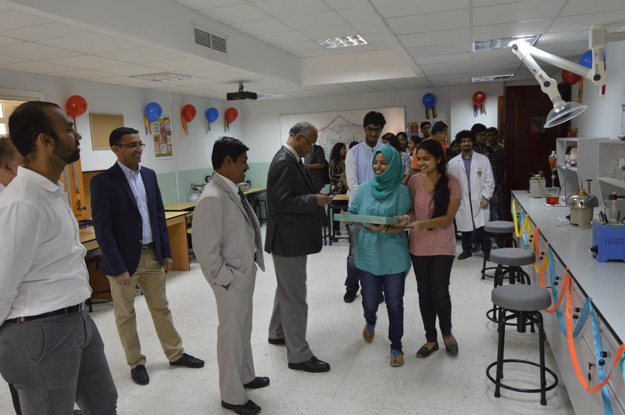 Petroleum Lab Inauguration