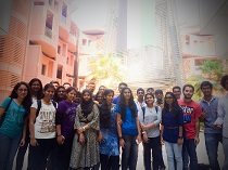 A Trip to Masdar University,Abu Dhabi (A Study Tour)