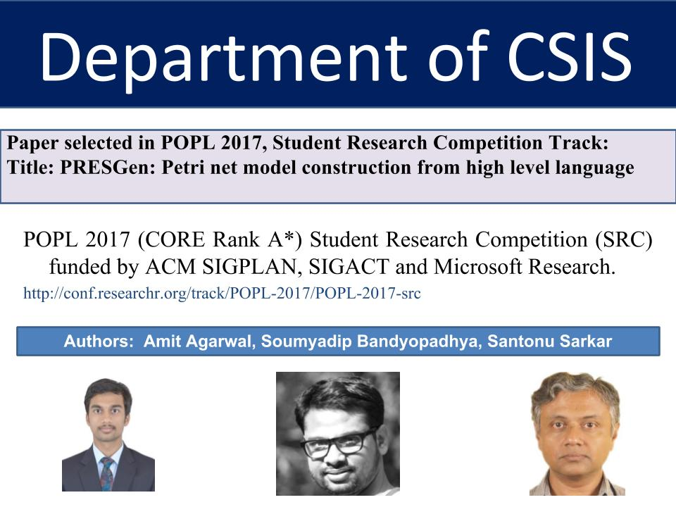 published research papers computer science Explore computer science research paper ideas, computer science (cse) engineering and technology seminar topics, latest cse mca it seminar papers 2015 2016, recent essay topics, speech ideas, dissertation, thesis, ieee and mca seminar topics, reports, synopsis, advantanges, disadvantages, abstracts, presentation pdf, doc and ppt for final year be, btech, mtech, msc, bsc, mca and bca 2015, 2016.