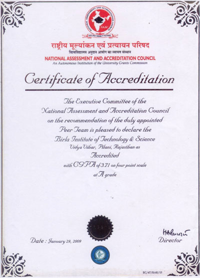 awards accreditations